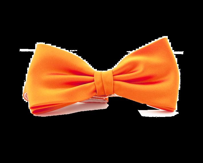Oranje strik polyester