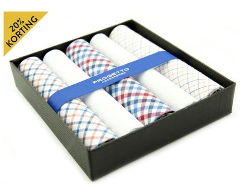 Hanky zakdoeken set | Meerkleurig