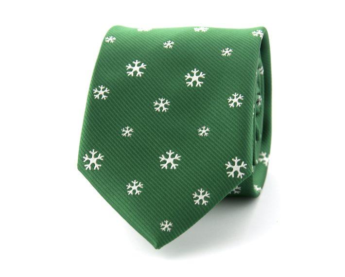 groene kerst stropdas