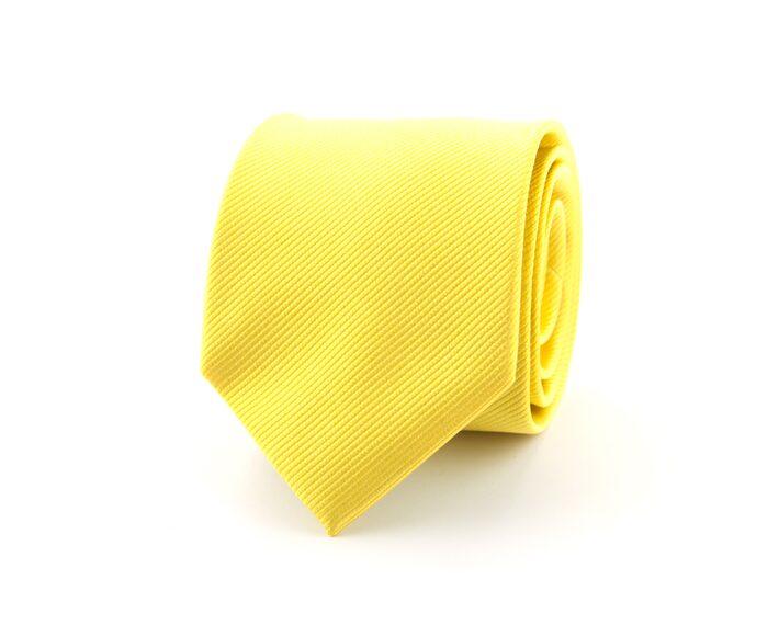 Gele stropdas